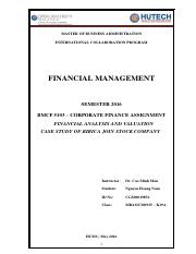 Nguyen Hoang Nam - MBAOUMK19A - Assignment of Financial   Management.pdf