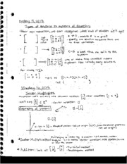 Class notes on Possible Linear Solutions