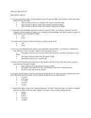 Special Relativity Questions.doc