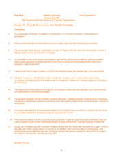 Chapter 15 Class Questions  2011