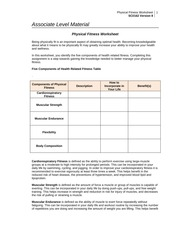 university of phoenix physical fitness and nutrition worksheet I can do it, you can do it (icdi) is a mentoring program offered by the president's council on fitness, sports & nutrition (pcfsn) that facilitates physical activity and nutrition education opportunities for children and adults with disabilities.