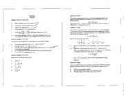 Math 101 Apr 02 Questions