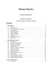 Plasma Physics_Richard Fitzpatrick