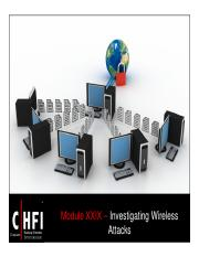 CHFI v4 Module 29 Investigating Wireless Attacks