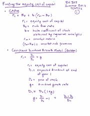 BA 303 Lecture Notes 07-27-2016