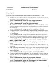 BBA 3301 Unit V Assignment