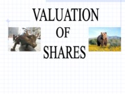 Valuation (Presentation)