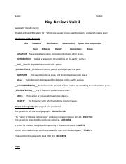 Key- Review for Test 1.doc