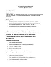 enviromental information system course outline and intro.doc