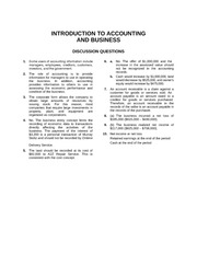 Ch. 1 INTRODUCTION TO ACCOUNTING