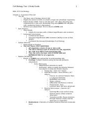 Cell Bio Exam 1 Study Guide.pdf