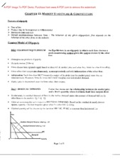 Econ 3070 Chapter 13 Notes