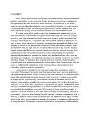 Jjs Ap Comp Locavore Essay  Jason Maymon Ap Composition Mr H   Pages Locavorespdf