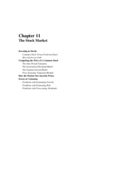 Solutions to chapter 11
