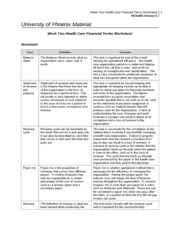 week four health care financial terms worksheet week four health care financial terms. Black Bedroom Furniture Sets. Home Design Ideas