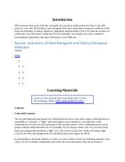 Intellipath Indicators of well-designed and poorly designed website.docx