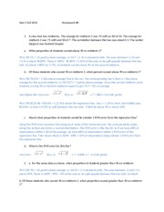 Stat 2 Fall 2014 Homework 6 Solutions