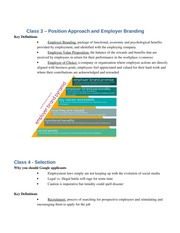 Position Approach and Employer Branding