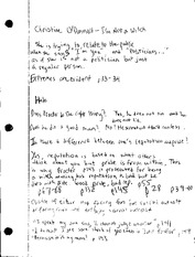 American Literature Witchcraft Prosecution Notes