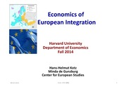 Ec1432 Fall 2014 Lecture 1