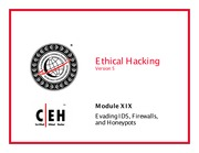 CEH v5 Module 19 Evading IDS Firewall and Honeypot