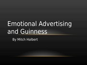 Emotional Advertising and Guinness Presentation pptx