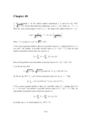 PHY2049 Chapter 40 Solutions