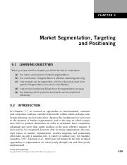 Chapter 9    Market Segmentation, Targeting and Positioning.pdf