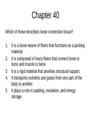 Chapter 40, 42, 43, 44 review online version.ppt