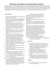 Life Sciences Safety Contract