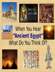 Ch2 Ancient Egypt Sec1 Ppt.pps