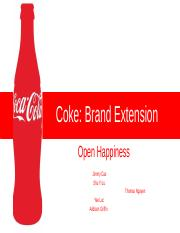 Coke_ Brand Extension PPT