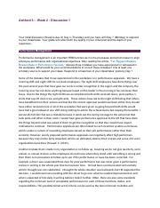 Bus 303 ashford week 5 final reflection paper