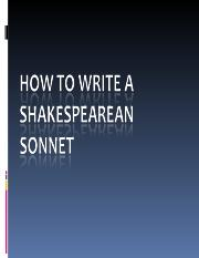 How to Write a Sonnet-0