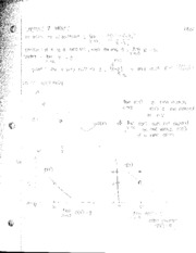 Lecture Notes-Limits Continued