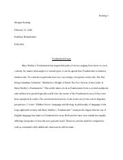 Keating_Romanticism Essay