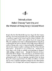 Week 4 Introduction Mabel Cheung Yuen-Ting and the Women of Hong Kongs Second Wave