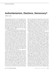 WK03_Isaac_Authoritarianism, Elections, Democracy