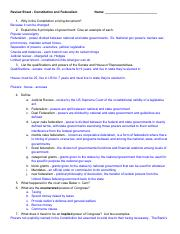 Margaret Vesey - Review Sheet - Constitution%2FFederalism.pdf