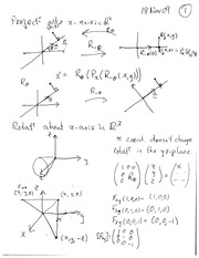 MATH 20610 Fall 2009 Applications of R^2 Lecture Notes