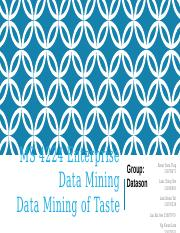 MS 4224 Enterprise Data Mining Final.pptx.pptx