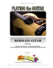 Ebook Cara Bermain Gitar Bagi Pemula