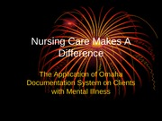 NursingCareMakesADifference