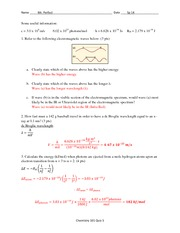 Quiz 5 Solution Spring 2014 on General Chemistry