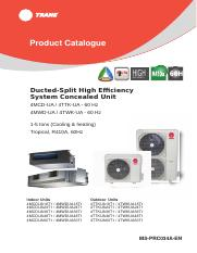Ducted Split Product Catalogue_60Hz_160516_HD