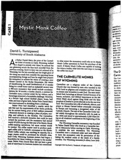case 1 mystic monk coffee Wyoming monks' foundation received $47m in 2009 the monks also operate mystic monk coffee, a mail-order business with reported annual gross sales of.