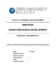 BBDH4103 Human Resource Development - Copy.docx