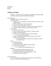PYSC 100 CH. 6 pysc class notes