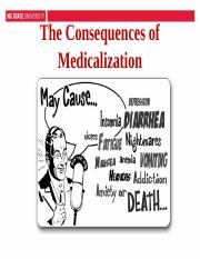 2) The Consequences of Medicalization (1).ppt