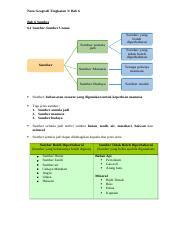 Bab 06 Sumber Nota Geografi Tingkatan 3 Bab 6 Bab 6 Sumber 6 1 Sumber Sumber Utama Sumber Semula Jadi Sumber Sumber Yang Boleh Diperbaharui Sumber Course Hero